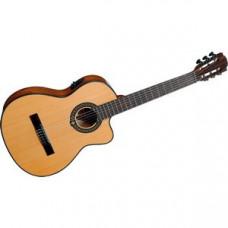 Гитара классическая со звукоснимателем LAG Occitania OC66CE
