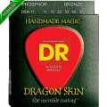 Струны для акустической гитары DR DSA-11 DRAGON SKIN (11-50) Lite-Medium