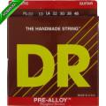 Струны для акустической гитары DR PL-10 PREALLOY (10-48) Lite