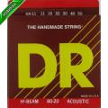 Струны для акустической гитары DR HA-11 HI-BEAM 80/20 (11-50) Lite-Medium