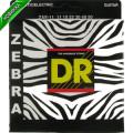 Струны для электроакустической гитары DR ZAE-11 ZEBRA (11-50) Lite-Medium