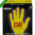 Струны для электрогитары DR NYE-9/46 NEON Hi-Def (9-46) Lite-n-Heavy