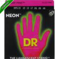 Струны для электрогитары DR NPE-10 NEON Hi-Def (10-46) Medium