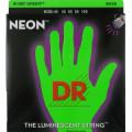 Струны для бас-гитары DR NGB-45 NEON Hi-Def (45-105) Medium