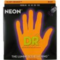 Струны для бас-гитары DR NOB-45 NEON Hi-Def (45-105) Medium