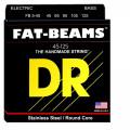 Струны для бас-гитары DR FB5-45 Fatbeam (45-125) Medium 5`s