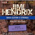 Струны для бас-гитары JIMI HENDRIX 1253 M
