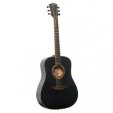 Гитара акустическая LAG Tramontane T100D-BLK
