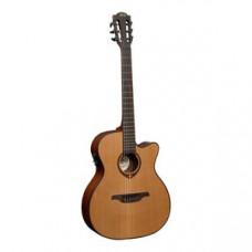 Гитара классическая со звукоснимателем LAG Tramontane TN200A14CE
