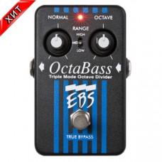 Бас-гитарная педаль EBS OctaBass (трехрежимный октавер)