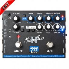 Басовый преамп EBS MicroBass II (двухканальный басовый преамп/директ-бокс)