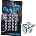 Пуговицы D'ANDREA GUITAR BUTTONS CHROME EP-24C