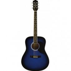 Акустическая гитара EKO RANGER 6 BLUE SUNBURST