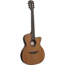 Гитара классическая со звукоснимателем LAG Tramontane TN300A14SCE