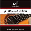 Струны для классической гитары ROYAL CLASSICS NC20 BLACK AND CARBON