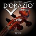 Струны для виолончели D'ORAZIO SET-610