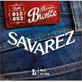 Струны для акустической гитары Savarez A130L