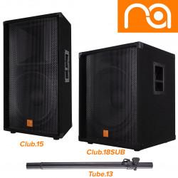 Расширенная линейка CLUB от Maximum Acoustics