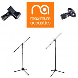 Микрофонные стойки Maximum Acoustics