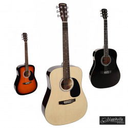Nashville GSD-60 - лучший выбор среди акустических гитар до 4000 грн