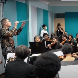 Стереопару Lewitt LCT 040 MATCH использовали для записи репетиции оркестра