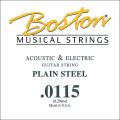 Струна для акустической или электрогитары Boston BPL-0115