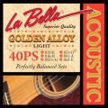 Струны для акустической гитары LaBella L-40PS