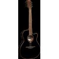 Гитара электроакустическая Lag Tramontane T118ASCE-BLK