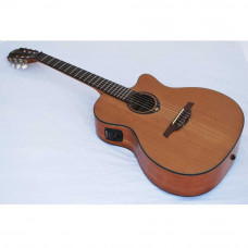 Гитара классическая со звукоснимателем LAG Tramontane TN200A14CE уценена