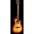 Гитара электроакустическая Lag Tramontane T70ACE-BRB