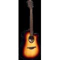 Гитара электроакустическая Lag Tramontane T70DCE-BRB