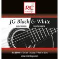 Струны для классической гитары ROYAL CLASSICS SBW80 JG Black & White