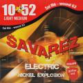 Струны для электрогитары Savarez X50 LMW Light Tension