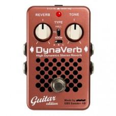 Гитарная педаль эффектов EBS Dynaverb Guitar Edition