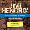 Струны для бас-гитары JIMI HENDRIX 1201 SL