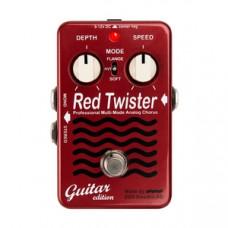 Гитарная педаль эффектов EBS Red Twister Guitar Edition
