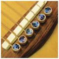 Шпильки для гитары, набор D'ANDREA Tone Pins Abalone Inlay Bridge Pins TP2A