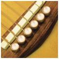 Шпильки для гитары, набор D'ANDREA Tone Pins Mother of Pearl Inlay Bridge Pins TP3M