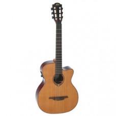 Гитара классическая со звукоснимателем LAG Tramontane TN100ACE