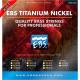 Струны для бас-гитары EBS TN-CM 5-strings (45-128) Titanium Nickel