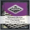 Струны для акустической гитары BLACK DIAMOND N600L