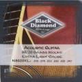 Струны для акустической гитары BLACK DIAMOND N8020XL