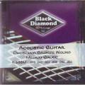 Струны для акустической гитары BLACK DIAMOND N600М