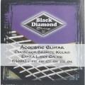 Струны для акустической гитары BLACK DIAMOND N600XL