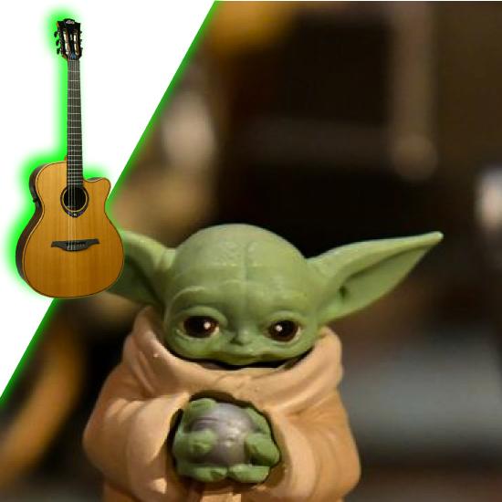 Lag гитара и Йода