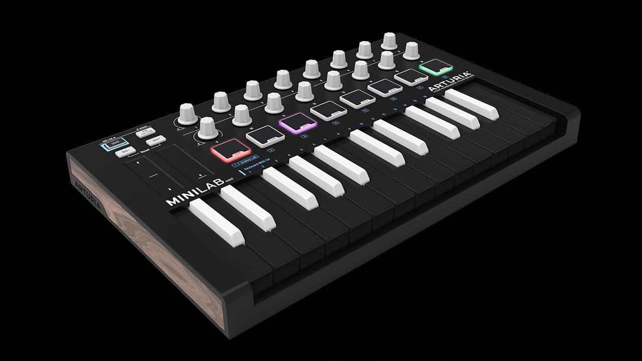 MIDI-клавиатура/контроллер Arturia MiniLab MKII Inverted Edition